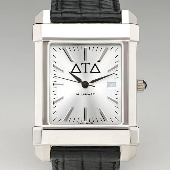 Delta Tau Delta Men's Collegiate Watch with Leather Strap