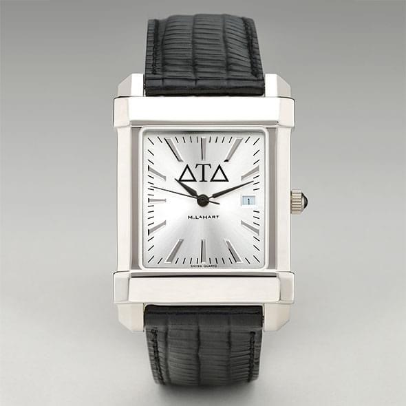 Delta Tau Delta Men's Collegiate Watch with Leather Strap - Image 2