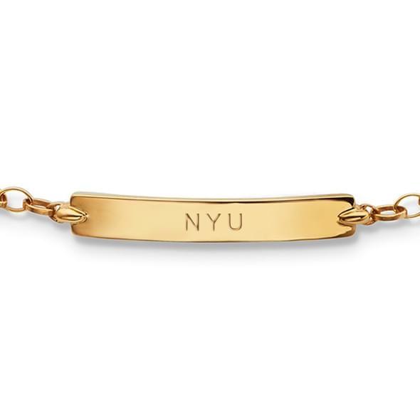 NYU Monica Rich Kosann Petite Poessy Bracelet in Gold - Image 2