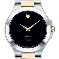 Emory Goizueta Men's Movado Collection Two-Tone Watch with Black Dial