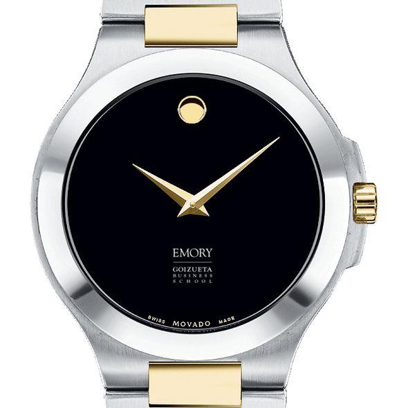 Emory Goizueta Men's Movado Collection Two-Tone Watch with Black Dial - Image 1