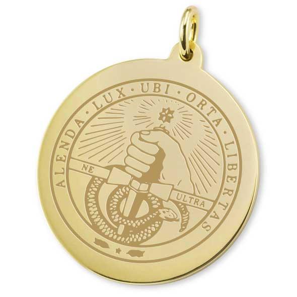 Davidson College 18K Gold Charm - Image 2