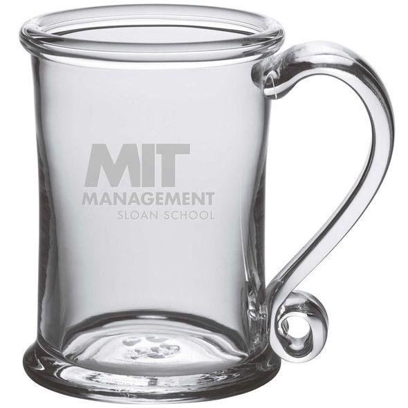MIT Sloan Glass Tankard by Simon Pearce - Image 1