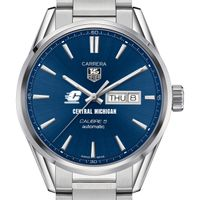 Central Michigan Men's TAG Heuer Carrera with Day-Date