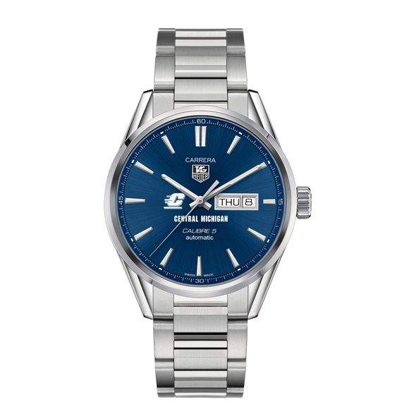 Central Michigan Men's TAG Heuer Carrera with Day-Date - Image 2