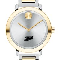 Purdue University Women's Movado Two-Tone Bold 34