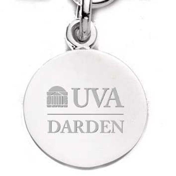 UVA Darden Sterling Silver Charm