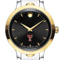 Texas Tech Men's Movado Luno Sport Two-Tone