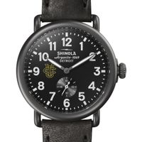 UC Irvine Shinola Watch, The Runwell 41mm Black Dial