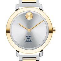 University of Virginia Women's Movado Two-Tone Bold 34