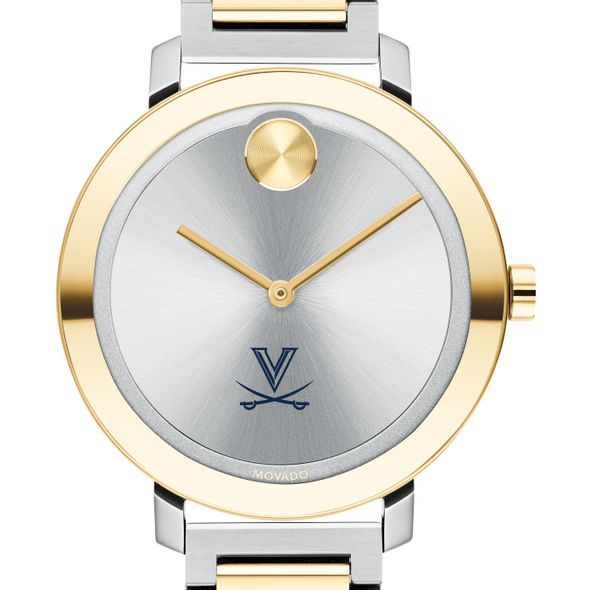 University of Virginia Women's Movado Two-Tone Bold 34 - Image 1