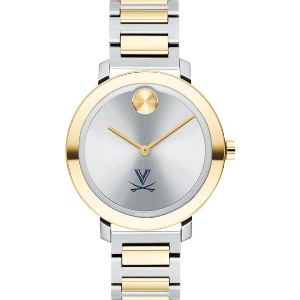 University of Virginia Women's Movado Two-Tone Bold 34 - Image 2