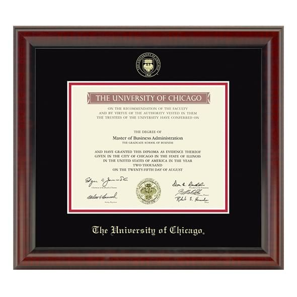 University of Chicago Diploma Frame, the Fidelitas