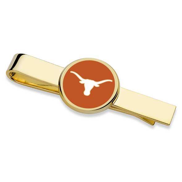 University of Texas Enamel Tie Clip