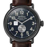 Duke Fuqua Shinola Watch, The Runwell 47mm Midnight Blue Dial
