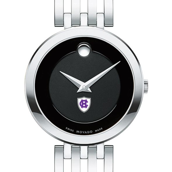 Holy Cross Women's Movado Esparanza Stainless Steel Museum with Bracelet