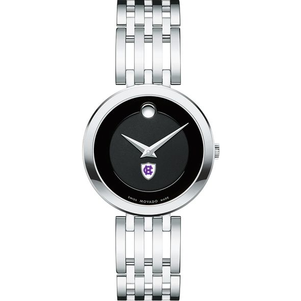Holy Cross Women's Movado Esparanza Stainless Steel Museum with Bracelet - Image 2