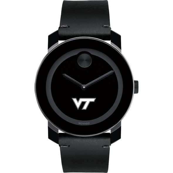 Virginia Tech Men's Movado BOLD with Leather Strap - Image 2