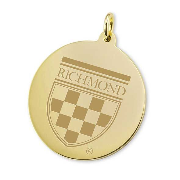 University of Richmond 14K Gold Charm