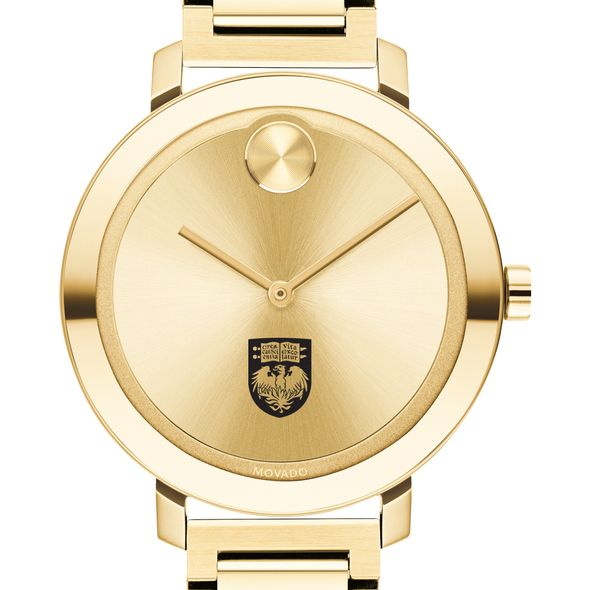 University of Chicago Women's Movado Gold Bold 34 - Image 1