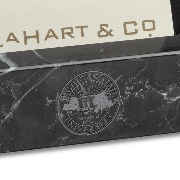 Michigan State Marble Business Card Holder - Image 2