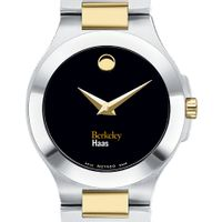 Berkeley Haas Women's Movado Collection Two-Tone Watch with Black Dial