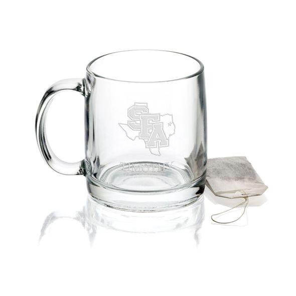 Stephen F. Austin State University 13 oz Glass Coffee Mug - Image 1
