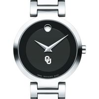 University of Oklahoma Women's Movado Museum with Steel Bracelet