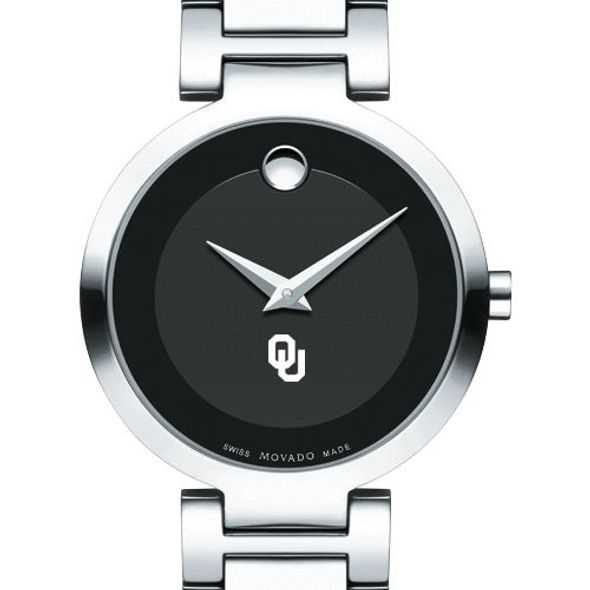 University of Oklahoma Women's Movado Museum with Steel Bracelet