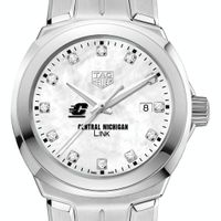 Central Michigan TAG Heuer Diamond Dial LINK for Women