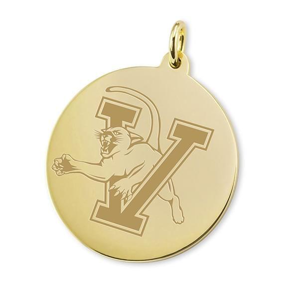 UVM 14K Gold Charm
