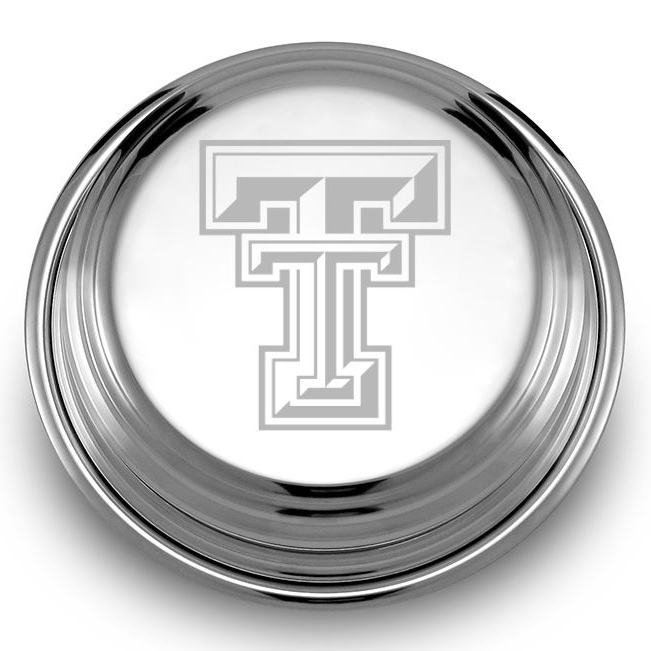Texas Tech Pewter Paperweight - Image 2