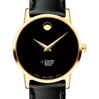 Columbia Business Women's Movado Gold Museum Classic Leather
