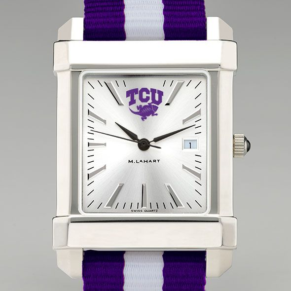 Texas Christian University Collegiate Watch with NATO Strap for Men