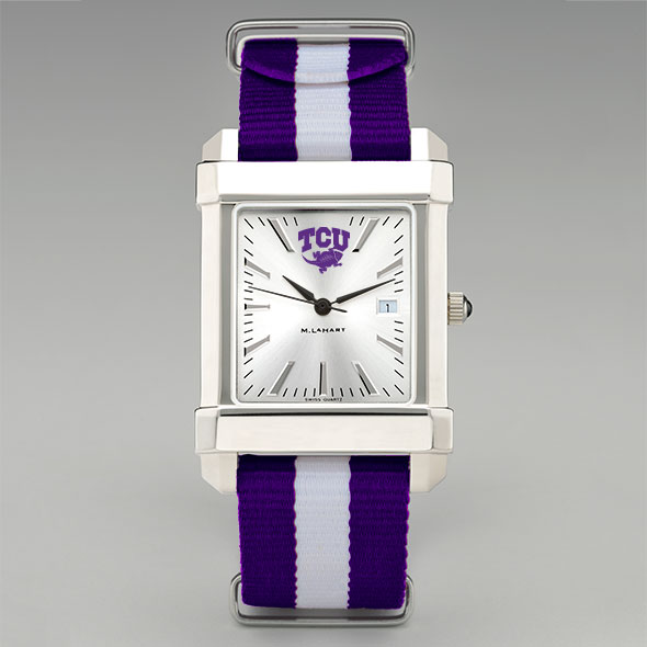 Texas Christian University Collegiate Watch with NATO Strap for Men - Image 2