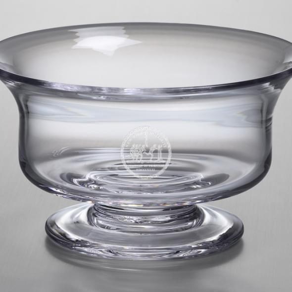 NYU Medium Glass Revere Bowl by Simon Pearce - Image 2