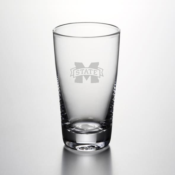 Mississippi State Ascutney Pint Glass by Simon Pearce