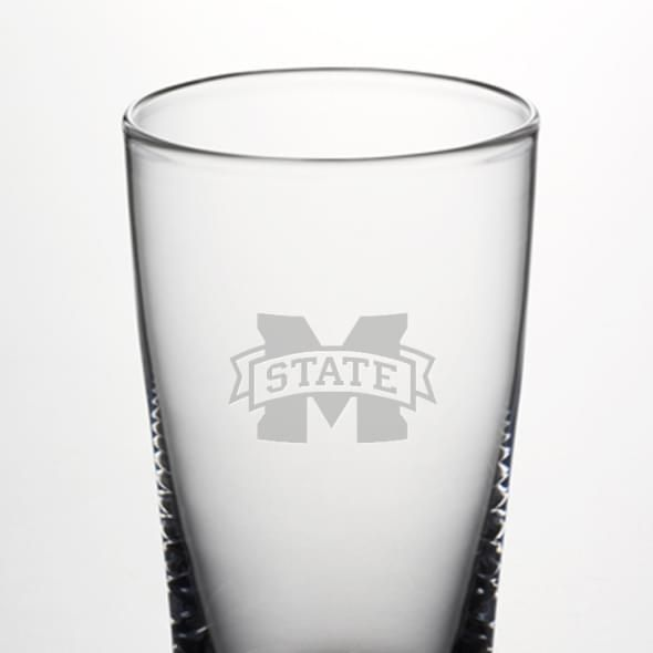 Mississippi State Ascutney Pint Glass by Simon Pearce - Image 2