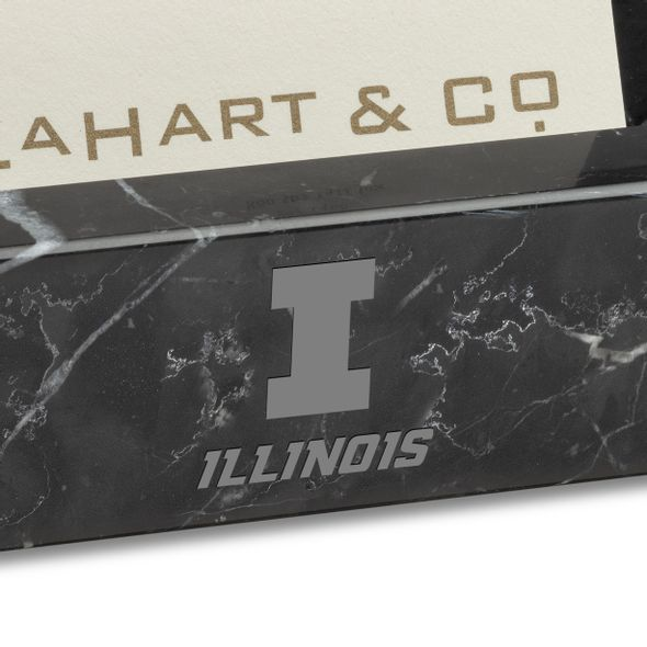 Illinois Marble Business Card Holder - Image 2