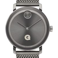 Georgetown University Men's Movado BOLD Gunmetal Grey with Mesh Bracelet