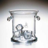 Gonzaga Glass Ice Bucket by Simon Pearce