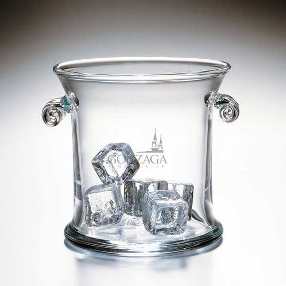 Gonzaga Glass Ice Bucket by Simon Pearce