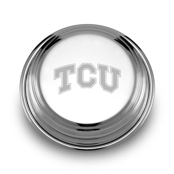 TCU Pewter Paperweight