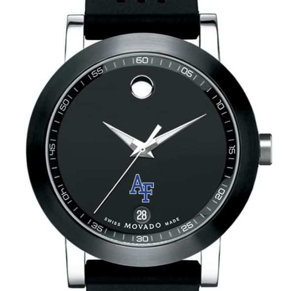 Air Force Academy Men's Movado Museum Sport Rubber Strap