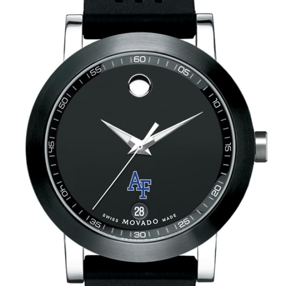 Air Force Academy Men's Movado Museum Sport Rubber Strap - Image 1