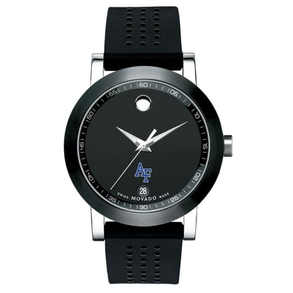 Air Force Academy Men's Movado Museum Sport Rubber Strap - Image 2