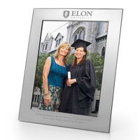 Elon Polished Pewter 8x10 Picture Frame