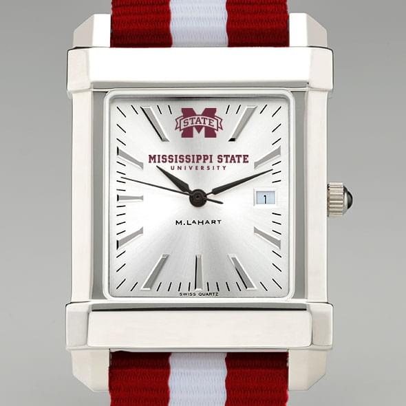 Mississippi State Collegiate Watch with NATO Strap for Men - Image 1