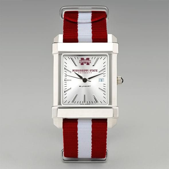 Mississippi State Collegiate Watch with NATO Strap for Men - Image 2