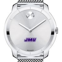 James Madison University Men's Movado Stainless Bold 44